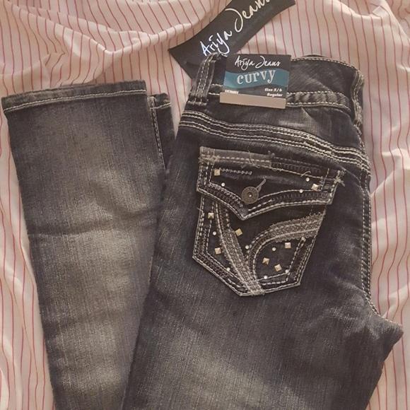 249b2e823a80a Ariya Jeans 👖 Curvy Skinny!